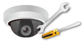 ネットワークカメラ設置サポート